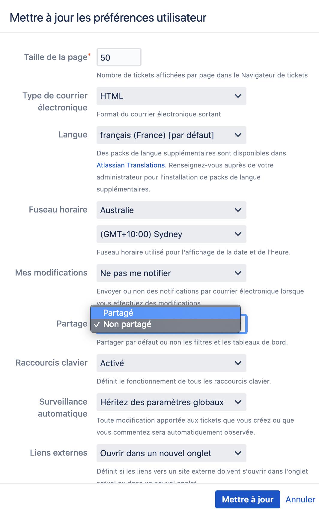 Partage de filtres Jira automatique