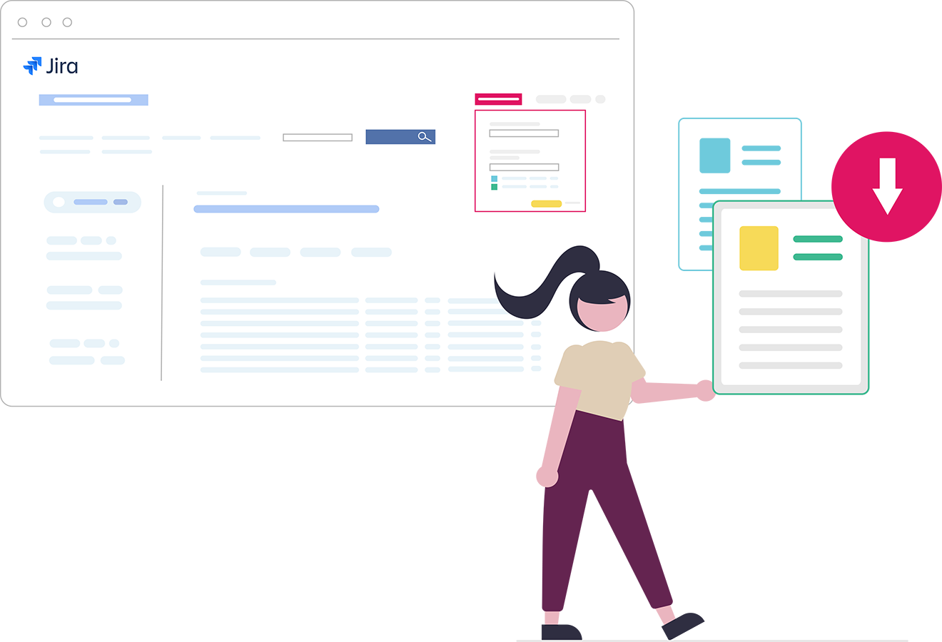 jira-jql-exporter les résultats de recherche-smartview