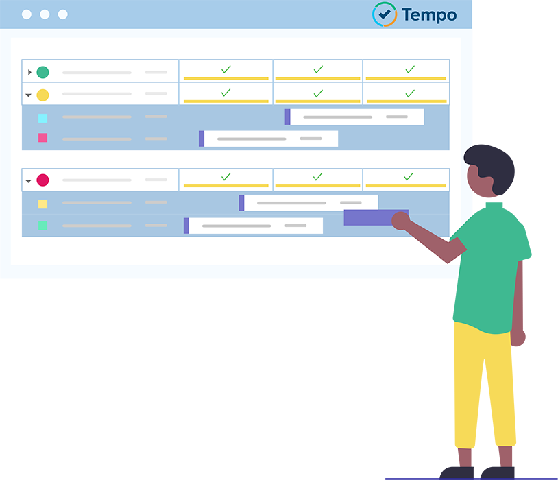 Tempo Planner - Suite de plugins pour Jira- planification des ressources